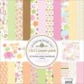 Doodlebug Sugar & Spice Paper Pack 12in.X12in.