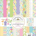 Doodlebug Hello Spring Paper Pack 12in.X12in.