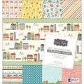 Grant Studios Grace Taylor Collection Paper Pad 12in.X12in. 30 Sheets-Our Neighborhood