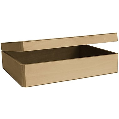 Walnut Hollow Basswood Cornice Hinged Box