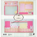 Fancy Pants Summer Soul Page Layout Kit, 12in. x 12in.