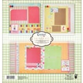 Fancy Pants Childish Things Page Layout Kit, 12in. x 12in.
