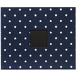 American Crafts Patterned D-Ring Album, 12in. x 12in., Navy Stars