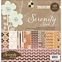 Diecuts With A View Serenity Paper Stack 12X12-48