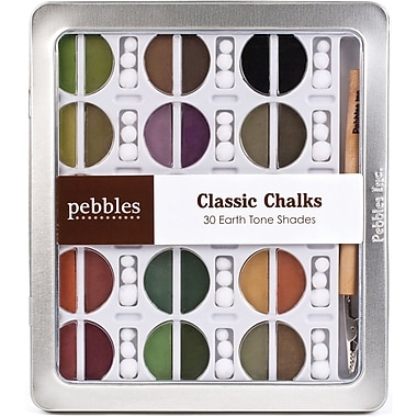 American Crafts I Kan'dee Chalk Set, Earth Tones