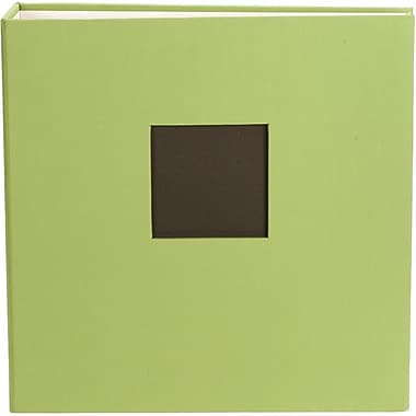 American Crafts Cloth D, Ring Album, 8.5in. x 11in., Leaf