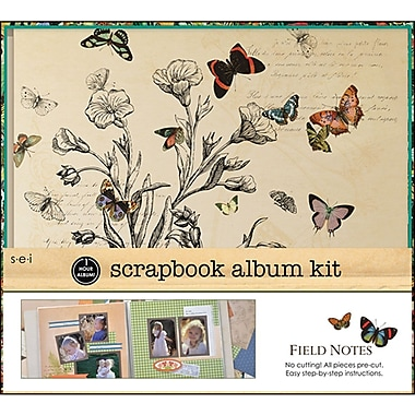 SEI 1 Hour Album Scrapbook Kit, 12in. x 12in., Field Notes