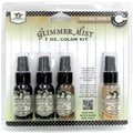 Tattered Angels Glimmer Mist 1 Ounce Kit, Canvas Corp Natures Basics