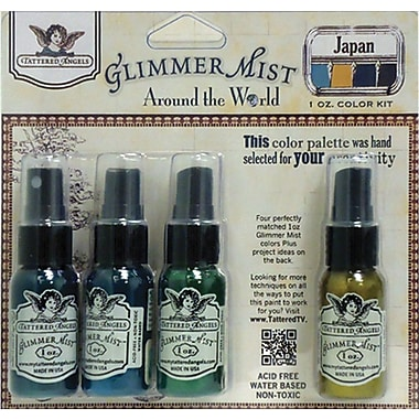 Tattered Angels Glimmer Mist 1 Ounce Kit, Japan