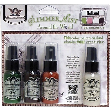 Tattered Angels Glimmer Mist 1 Ounce Kit, Holland