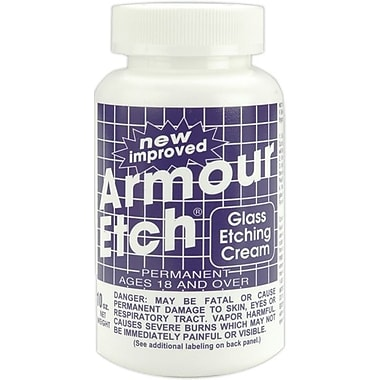 Armour Products Glass Etching Cream, 10 Ounces