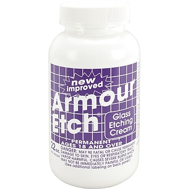 Armour Products Glass Etching Cream, 22 Ounces