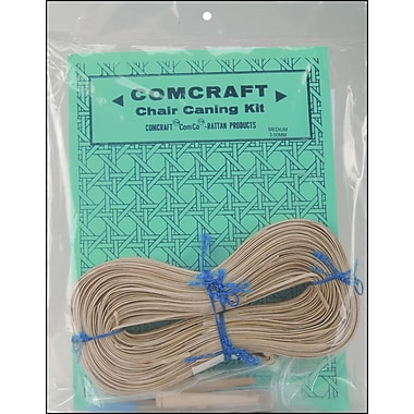 Commonwealth Basket Comcraft Chair Caning Kit, Medium, 3mm Cane