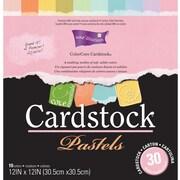 "Darice Core Essentials Cardstock, 12"" x 12"", Pastels"
