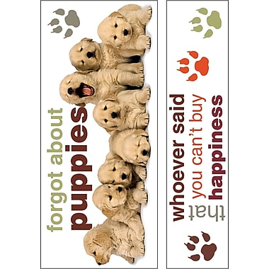 Paper House Mini Murals, 40in. x 27in., Golden Retriever Puppies