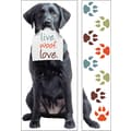 Paper House Mini Murals, 23in. x 40in., Black Labrador Retriever