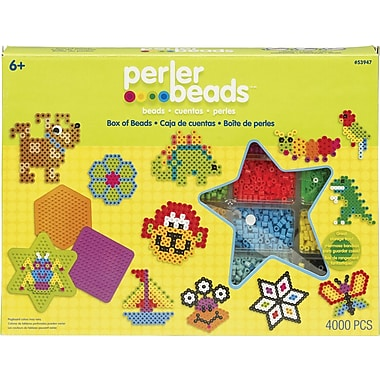 Perler Fun Fusion Fuse Bead Value Activity Kit, Box Of Beads