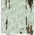 Fabscraps Shabby Chic Double-Sided Paper Assortment 12in.X12in. 16 Sheets-2 Each Of 8 Designs