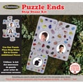 Midwest Products Puzzle Piece Step Stone Kit, Puzzle Ends