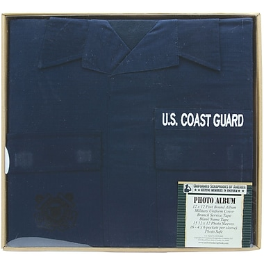Uniformed Scrapbooks U.S. Coast Guard Photo Album, 12in. x 12in.