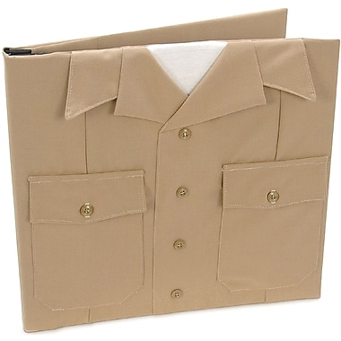Uniformed Scrapbooks U.S. Navy Keepsake Post Bound Album, 12in. x 12in., Khaki