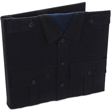 Uniformed Scrapbooks Police Keepsake Post Bound Album, 12in. x 12in., Dark Navy