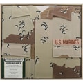 Uniformed Scrapbooks U.S. Marine Desert Battle Dress Uniform Album, 12in. x 12in., 6 Color Desert