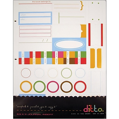 Hampton Art Ditto Journal Insert, 8in. x 11in.