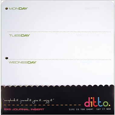 Hampton Art Ditto Journal Insert, 8in. x 8in.