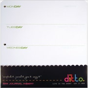 "Hampton Art Ditto Journal Insert, 8"" x 8"""