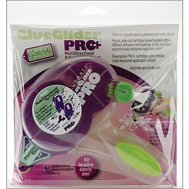 Glue Arts GlueGlider Pro Plus Dispenser W/Permatac, 1/4in. x 40'