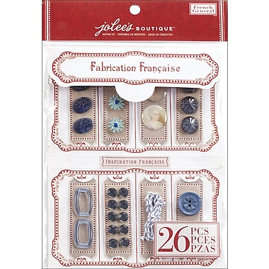 EK Success French General Notion Kit, Blue