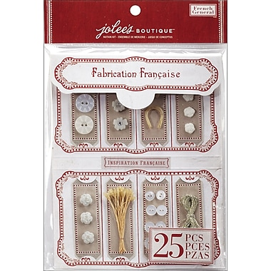 EK Success French General Notion Kit, Mother Of Pearl