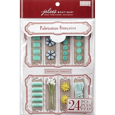 EK Success French General Notion Kit, Turquoise