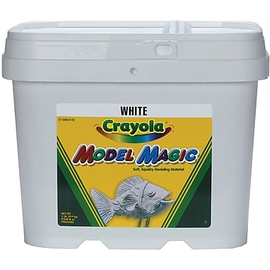 Crayola Model Magic, 2 Pound Tub, White