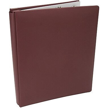 Pioneer Family Treasures Deluxe Fabric Postbound Album, 8.5in. x 11in., Rich Bordeaux