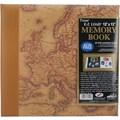 Pioneer Designer Print Postbound Album, 12in. x 12in., Map