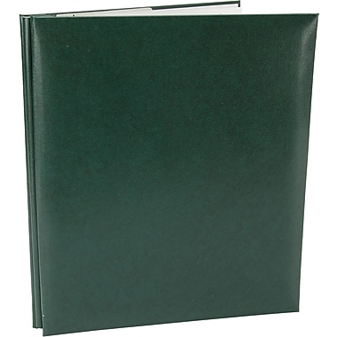 Pioneer Leatherette Postbound Album, 8.5in. x 11in., Green