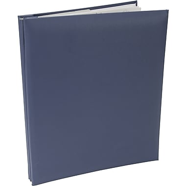 Pioneer Leatherette Postbound Album, 8.5in. x 11in., Bay Blue