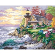 "Dimensions Paint By Number Craft Kit Painting, 20"" x 16"", Guardian Of The Sea (91129)"