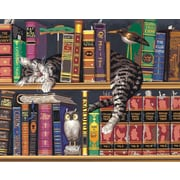 Dimensions Paint By Number Kit, 20 x 16, Frederick The Literate