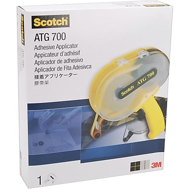 3M Scotch ATG700 Adhesive Applicator, For .5in. & .75in. Tape