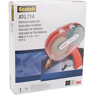3M Scotch ATG714 Adhesive Applicator, For .25in. Tape