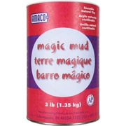 Amaco Magic Mud Air Dry Clay, 3 Pounds, Natural