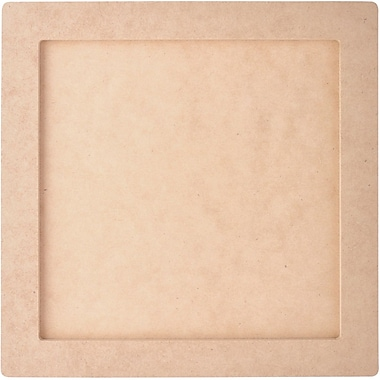 Kaisercraft Beyond The Page MDF Square Frame, 10in. x 10in. With 8in. x 8in. Opening