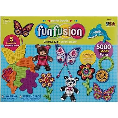 Perler Fun Fusion Fuse Bead Value Activity Kit, Creative Kid
