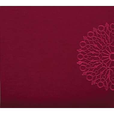 Grant Studios Embroidered Snapload Strap Album,  12in. x 12in., Burgundy