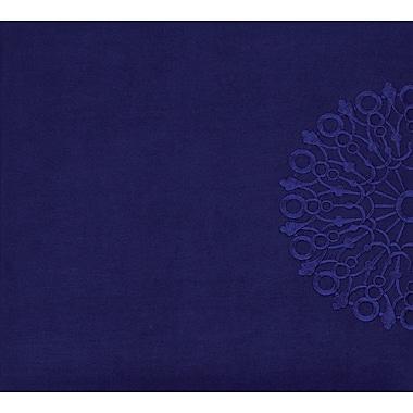 Grant Studios Embroidered Snapload Strap Album,  12in. x 12in., Amethyst