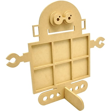 Kaisercraft Beyond The Page MDF Robot Photo Display, 14in. x 12in.