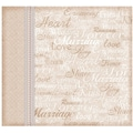 Hot Off The Press Postbound Memory Album, 8in. x 8in., Romance & Wedding